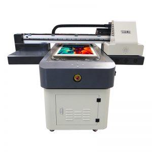 a4 μέγεθος ψηφιακό εκτύπωσης uv μηχανή pvc ύφασμα δέρμα χαλί εκτυπωτή δέρμα