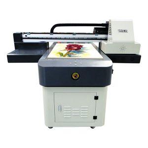 ζεστό πώληση a1 / a2 / a3 / a4 μικρό ψηφιακό εκτυπωτή επίπεδης επιφάνειας uv 6090