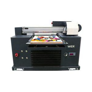 mini a3 flatbed uv εκτυπωτής για epson 1390 κεφαλή εκτυπωτή 6 χρώματα