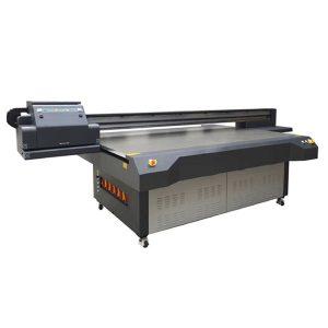 ακρυλικό εκτυπωτή εκτυπωτή επίπεδης επιφάνειας UV χρησιμοποιείται ευρέως CE εγκριθεί