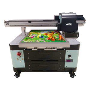 a2 uv επίπεδη εκτυπωτή ζεστό πώληση ψηφιακή μηχανή εκτύπωσης φύλλων