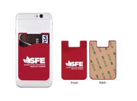 Συγκολλητικά πορτοφόλια κινητών τηλεφώνων